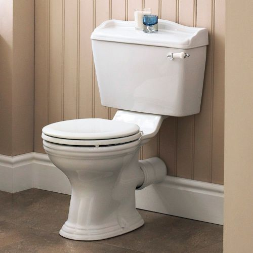 Marquis Close Coupled Toilet (Seat Not Included)